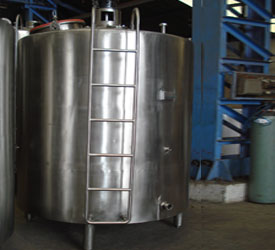 cream ripening tanks